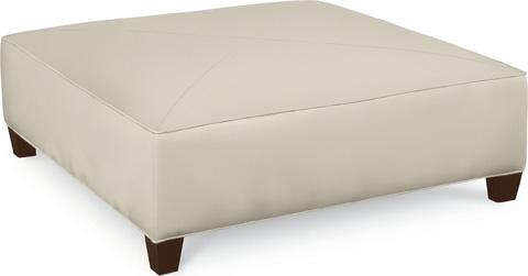 Thomasville Furniture - Brooklyn Square Plain Top Ottoman - 1831-16N2