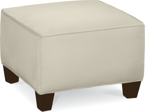 Thomasville Furniture - Brooklyn Square Plain Top Ottoman - 1837-16N1