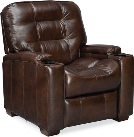 Image of Latham Media Recliner with Cup Holder