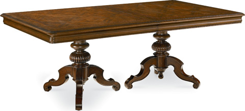 Image of Castillian Double Pedestal Table