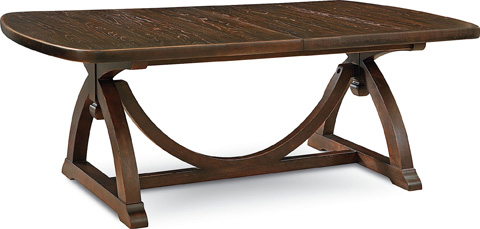 Image of Pacific Trestle Dining Table
