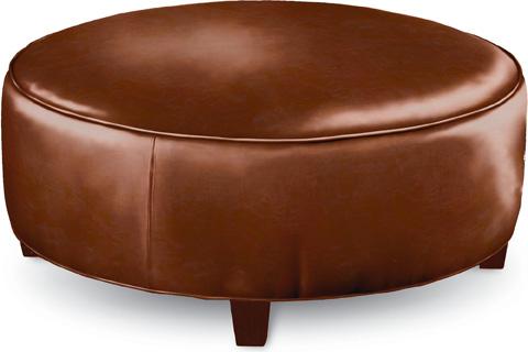 Thomasville Furniture - Brooklyn Round Plain Top Ottoman - HS1825-16