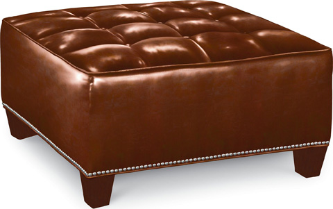 Thomasville Furniture - Brooklyn Square Button Top Ottoman - HS1836-16N2