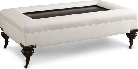 Thomasville Furniture - Warwick Ottoman - HS2312-16