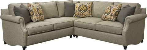 Thomasville Furniture - Ancil Sectional - T114C-SECT