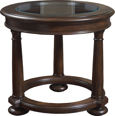 Image of Round Lamp Table