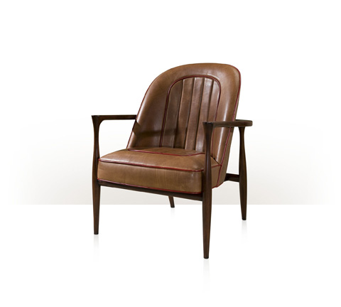 Theodore Alexander - Drive Leather Accent Chair - KENO4118