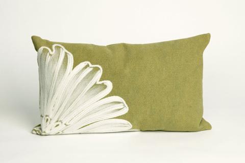 Trans-Ocean Import Co., Inc. - Visions II Antique Medallion Green Pillow - 7SB1S319006