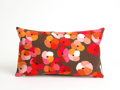 Trans-Ocean Import Co., Inc. - Visions II Pansy Pink Pillow - 7SB1S413837