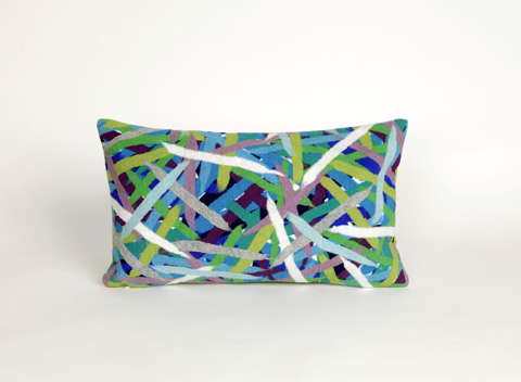 Image of Visions II Pick Up Sticks Caribbean Pillow