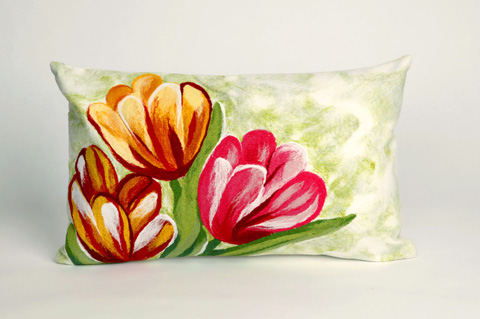 Trans-Ocean Import Co., Inc. - Visions III Tulips Warm Pillow - 7SC1S320824