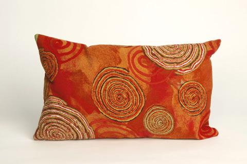Trans-Ocean Import Co., Inc. - Visions III Graffiti Swirl Warm Pillow - 7SC1S410924