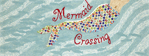 Trans-Ocean Import Co., Inc. - Frontporch Mermaid Crossing Water 2x8 Rug - FTPR6144803