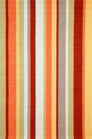 Trans-Ocean Import Co., Inc. - Newport Vertical Stripe Gypsy 5x8 Rug - NWP57166044
