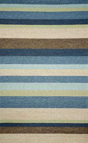 Image of Ravella Stripe Denim 5x8 Rug