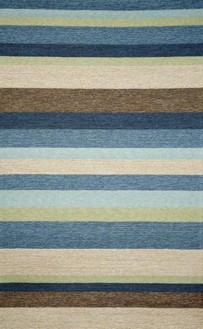 Image of Ravella Stripe Denim 5x8 Rug