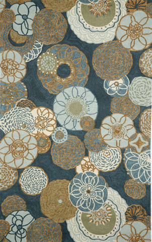 Image of Ravella Disco Denim 5x8 Rug