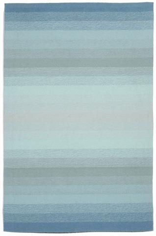 Image of Ravella Ombre Aqua 5x8 Rug