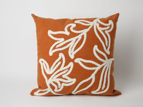 Trans-Ocean Import Co., Inc. - Visions I Windsor Orange Throw Pillow - 7SA2S307617