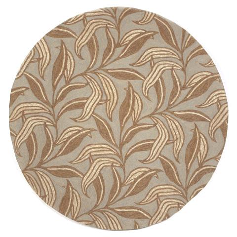 Trans-Ocean Import Co., Inc. - Ravella Leaf Driftwood Rug - RVLD8190219