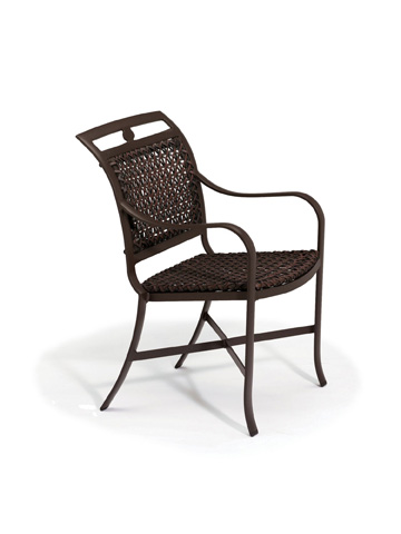 Tropitone Furniture Co., Inc. - Palladian Lattice Woven Dining Chair - 109924LS