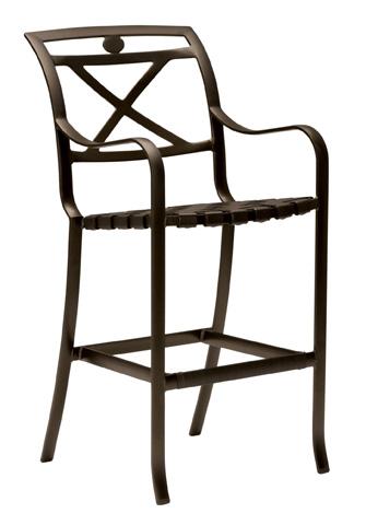 Tropitone Furniture Co., Inc. - Palladian Strap Barstool - 109926