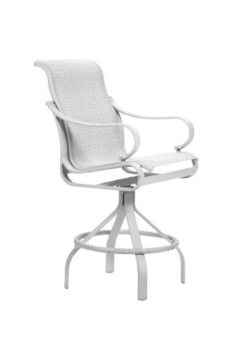 Tropitone Furniture Co., Inc. - Torino Sling Swivel Barstool - 150327-28