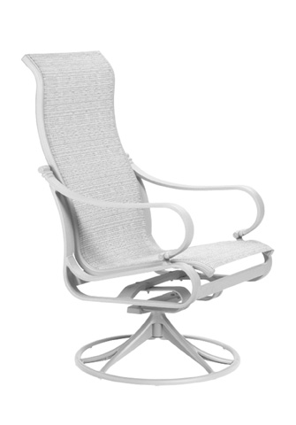 Image of Torino Sling High Back Swivel Rocker