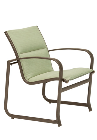 Tropitone Furniture Co., Inc. - Spinnaker Padded Sling Dining Chair - 159924PS