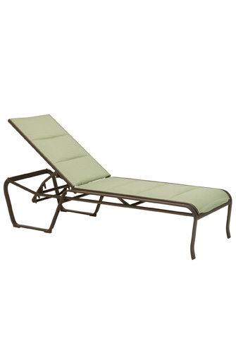 Tropitone Furniture Co., Inc. - Spinnaker Padded Sling Armless Chaise Lounge - 159933PS