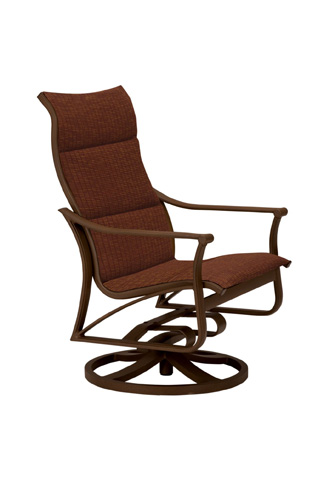 Tropitone Furniture Co., Inc. - Corsica Padded Sling Swivel Action Lounger - 161125NTPS