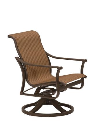 Tropitone Furniture Co., Inc. - Corsica Sling Swivel Rocker - 161169