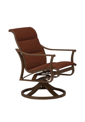 Tropitone Furniture Co., Inc. - Corsica Padded Sling Swivel Rocker - 161169PS