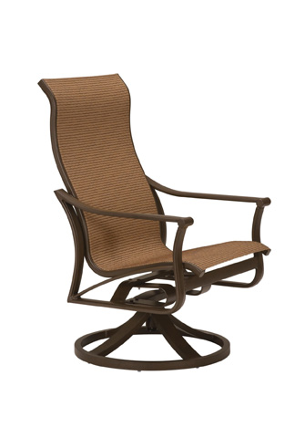 Tropitone Furniture Co., Inc. - Corsica Sling High Back Swivel Rocker - 161170