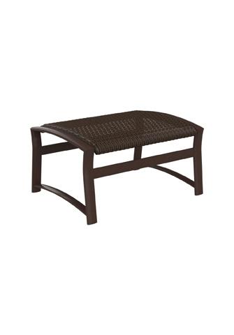 Tropitone Furniture Co., Inc. - Corsica Woven Ottoman - 161517WS