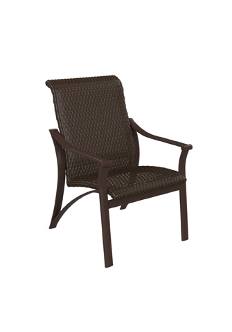 Tropitone Furniture Co., Inc. - Corsica Woven Dining Chair - 161537WS