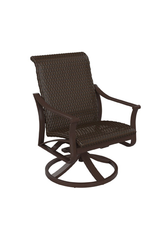 Tropitone Furniture Co., Inc. - Corsica Woven Swivel Rocker - 161569WS