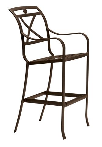 Tropitone Furniture Co., Inc. - Palladian Cast Barstool - 170026