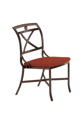 Tropitone Furniture Co., Inc. - Palladian Cast Side Chair with Pad - 17002805