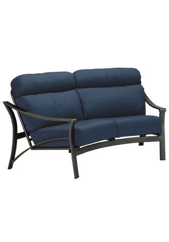 Tropitone Furniture Co., Inc. - Corsica Cushion Crescent Loveseat - 171310CL