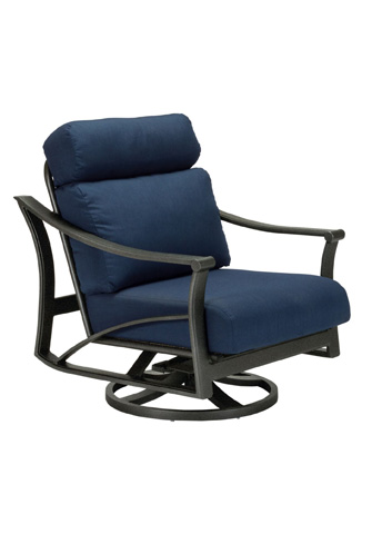 Image of Corsica Cushion Swivel Action Lounger