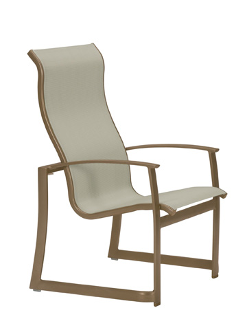 Tropitone Furniture Co., Inc. - MainSail High Back Dining Chair - 181001