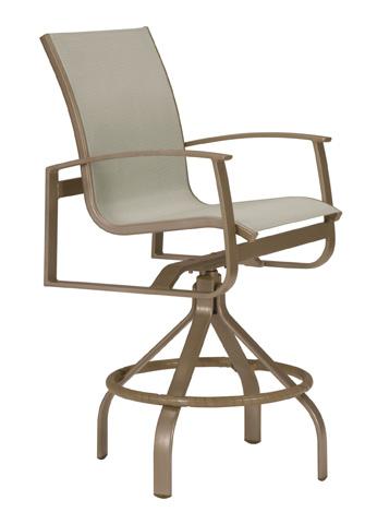 Tropitone Furniture Co., Inc. - MainSail Swivel Barstool - 181027-28