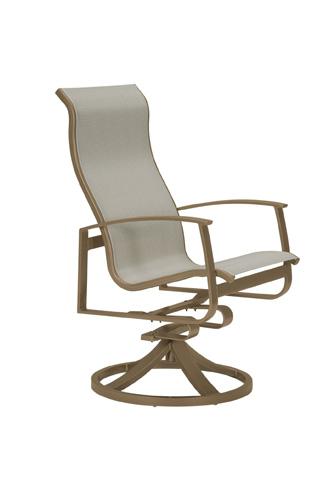 Tropitone Furniture Co., Inc. - MainSail High Back Swivel Rocker - 181070