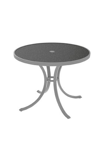Tropitone Furniture Co., Inc. - Raduno Round Dining Umbrella Table - 1836HU