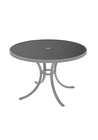 Tropitone Furniture Co., Inc. - Raduno Round Dining Umbrella Table - 1842HU