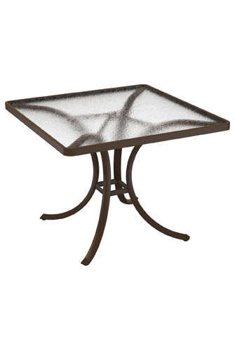 Tropitone Furniture Co., Inc. - Acrylic Square Dining Table - 1876A