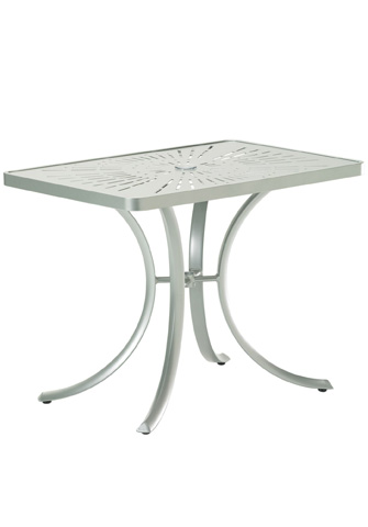Tropitone Furniture Co., Inc. - La'Stratta Rectangular Umbrella Table - 1879SLU