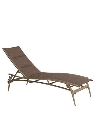 Tropitone Furniture Co., Inc. - Echo Padded Sling Chaise Lounge - 189932PS