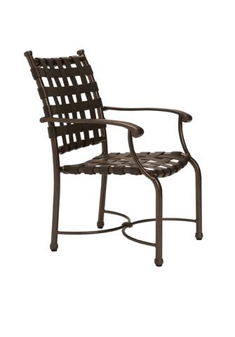 Tropitone Furniture Co., Inc. - Sorrento Strap Dining Chair - 200424